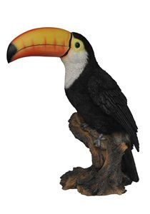 Toucan On Stump, 9 Inch x 6 and 5 Inch x 12 Inch
